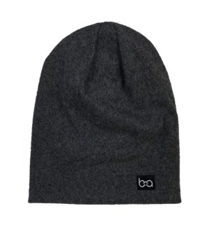 Babyfied Apparel - Beanie - Charcoal - 6-36M 6-36 months