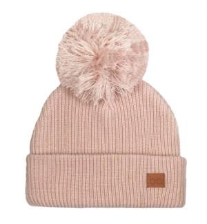 Babyfied Apparel - PomPom Toque - Light Pink 0-6M
