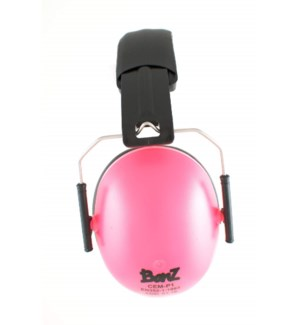 Kids Hearing Protection Earmuffs (2y+) - Petal Pink One Size