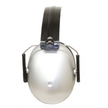 Kids Hearing Protection Earmuffs (2y+) - Silver One Size
