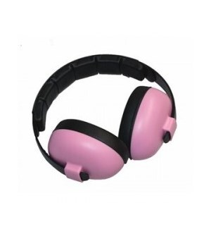 Infant Hearing Protection Earmuffs (2m+) - Petal Pink One Size