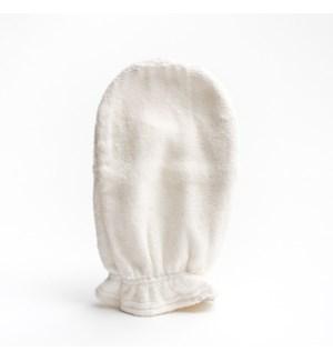 Bamboo Wash Mitt - White One Size
