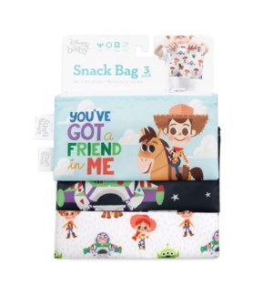 Disney - Reusable Snack Bag 3pk - Toy Story