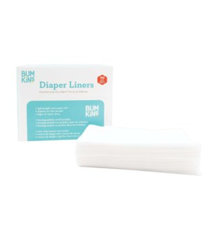 Flushable Diaper Liner 100 pack One Size
