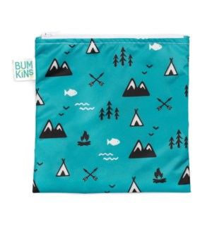 Reusable Snack Bag Large - Outdoors