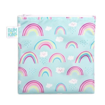 Reusable Snack Bag Large - Rainbows