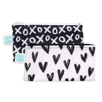 Reusable Snack Bag 2pk Small - Hearts, XOXO