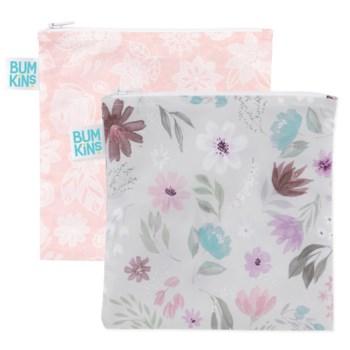 Large Snack Bag 2Pk - Floral