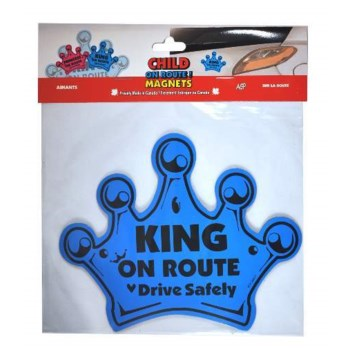 On Route Crown Magnet - Blue One Size