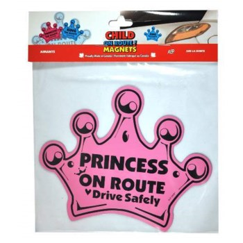 On Route Crown Magnet - Pink One Size