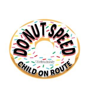 Donut Speed  Magnet - Vanilla One Size