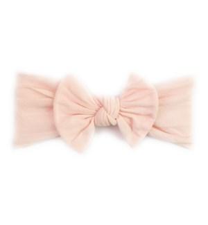 Headband - Nylon Bow - Ballet Pink