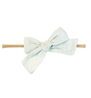 Headband - Victoria Bow - Mint