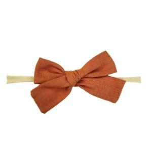 Headband - Victoria Bow - Ginger