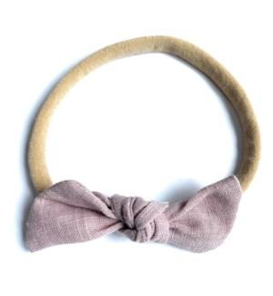 Headband - Knot - Megan - Mauve