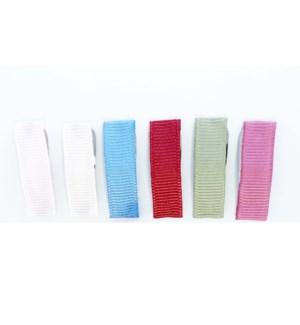 Small Snap Ribbon Clips - 6 pk - Lilipad