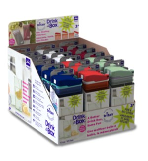 Drink in the Box - 12oz - Counter Display - 18pack