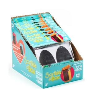 Drink in the Box - Scribble on the Box Display - 12pk