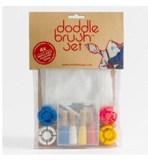 DoddleBrush Set 4 pack