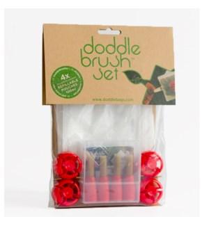 DoddleCook Brush Set 4 pack