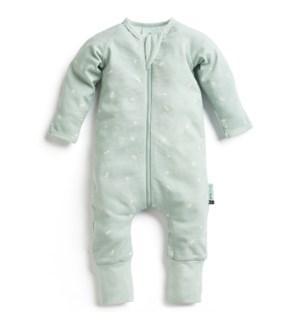 Long Sleeve Pajamas 0.2tog Sage 0-3mths
