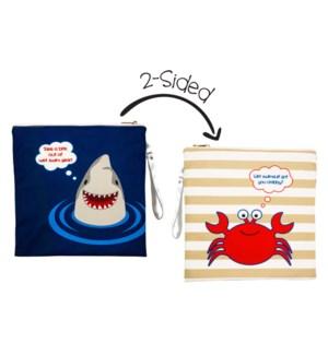 Wet Bag - Shark/Crab