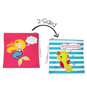 Wet Bag - Mermaid/Seahorse