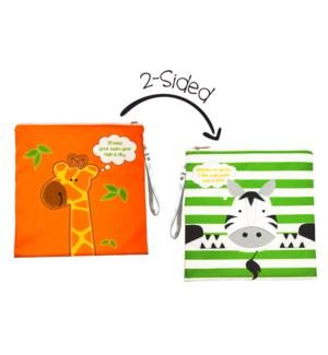 Wet Bag - Giraffe/Zebra