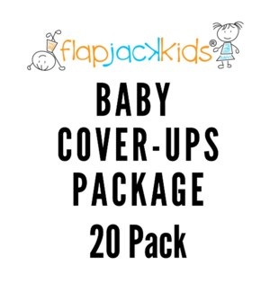 Baby Cover-Ups Package - 20 pack
