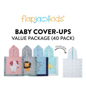 Baby Cover-Ups Package - 40 pack