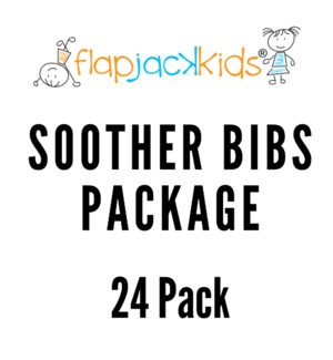 Soother Bibs Package - 24 pack