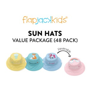 Sun Hats Package - 48 pack