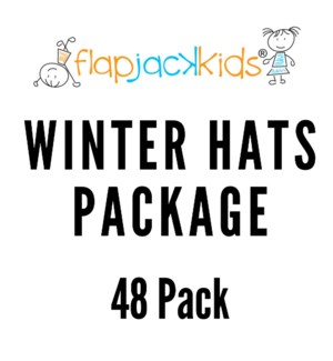 Winter Hats Package - 48 pack