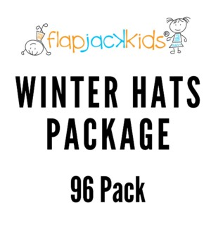 Winter Hats Package - 96 pack