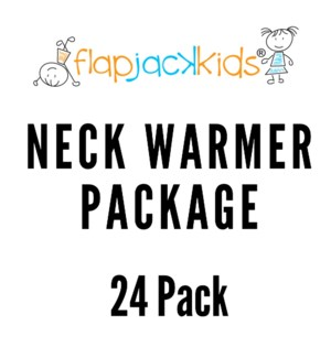 Neck Warmer Package - 24 pack