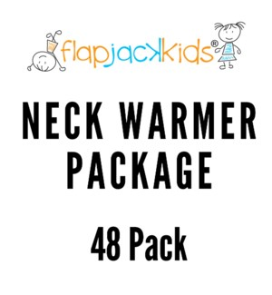 Neck Warmer Package - 48 pack