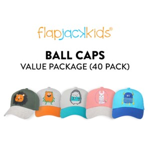 Ball Caps Package - 40 pack