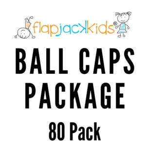 Ball Caps Package - 80 pack