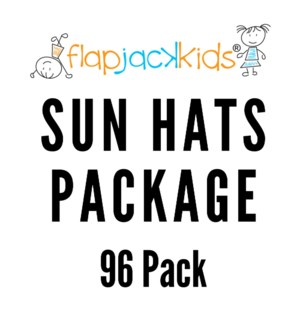 Sun Hats Package - 96 pack