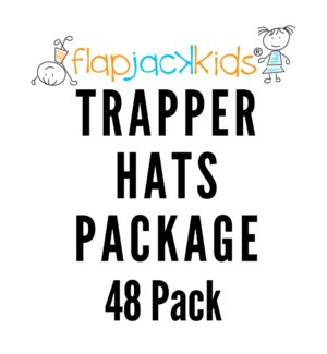 Trapper Hats Package - 48 pack