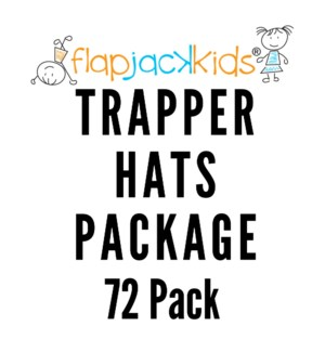Trapper Hats Package - 72 pack