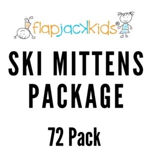 Ski Mittens Package - 72 pack