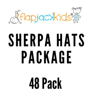 Sherpa Hats Package - 48 pack