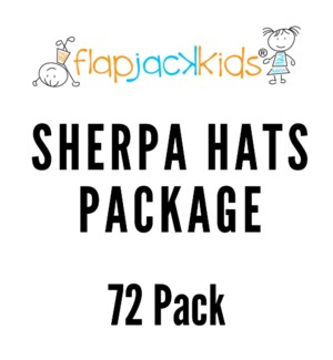 Sherpa Hats Package - 72 pack