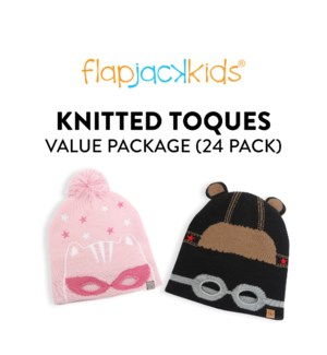 Knitted Toques Package - 24 pack