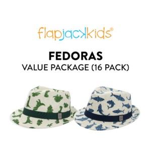 Fedoras Package - 16 pack