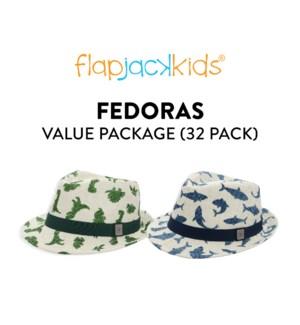 Fedoras Package - 32 pack