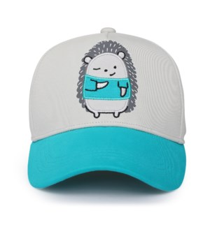 Kids UPF50+ Ball Cap - Hedgehog Medium