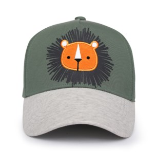 Kids UPF50+ Ball Cap - Lion Medium
