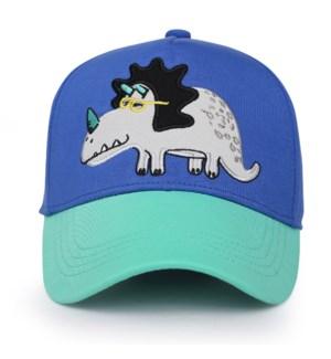 Kids UPF50+ Ball Cap - Dino Medium